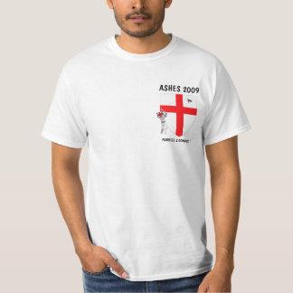 De vlag Engelse veenmol van Engeland Tshirt