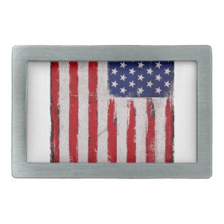 De vlag Grunge van de V.S. Gespen