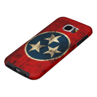 De Vlag Grunge van Tennessee Samsung Galaxy S6 Hoesje