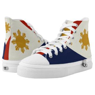 De vlag hightops schoenen van Filippijnen