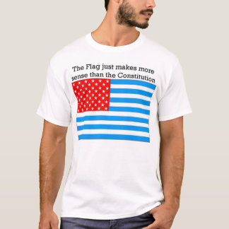 De vlag houdt steek t shirt