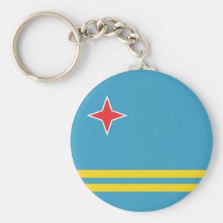 De Vlag Keychain van Aruba Sleutelhanger