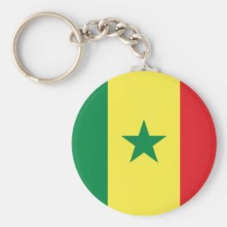 De Vlag Keychain van Senegal Sleutelhanger