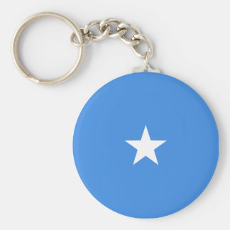 De Vlag Keychain van Somalië Fisheye Sleutelhanger