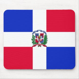 De Vlag Mousepad van de Dominicaanse Republiek Muismat