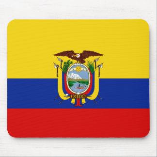 De Vlag Mousepad van Ecuador Muismatten