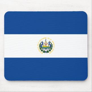 De Vlag Mousepad van El Salvador Muismat
