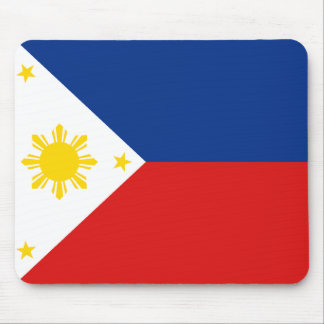 De Vlag Mousepad van Filippijnen Muismatten