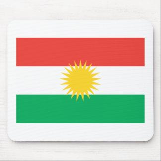 De Vlag Mousepad van Koerdistan Muismat
