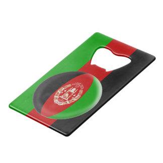De Vlag van Afghanistan Afghanistani Creditkaart Flessenopener