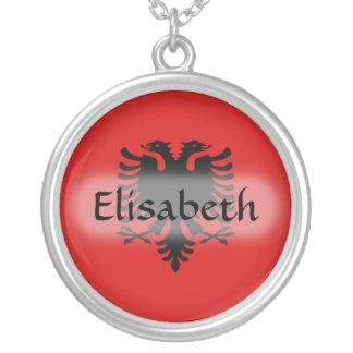 De Vlag van Albanië + Het Ketting van de naam