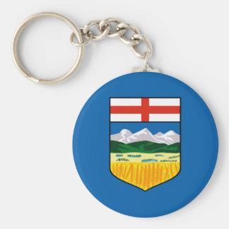 De vlag van Alberta Sleutelhanger