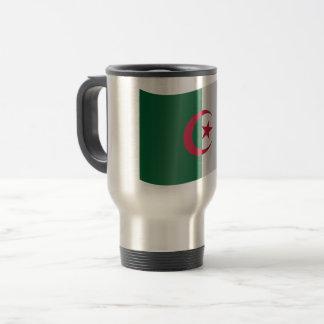De Vlag van Algerije Reisbeker