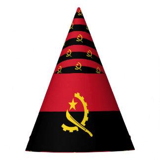 De Vlag van Angola Feesthoedjes