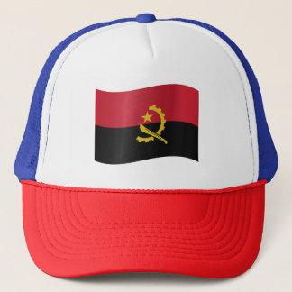 De Vlag van Angola Trucker Pet