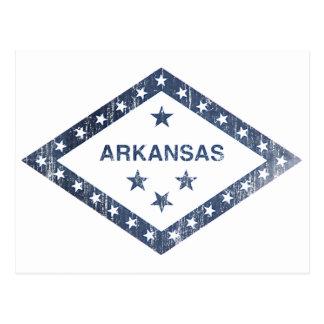 De Vlag van Arkansas Briefkaart