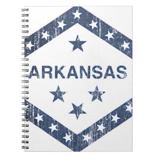 De Vlag van Arkansas Notitieboek
