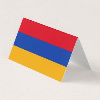 De Vlag van Armenië Plaatskaart