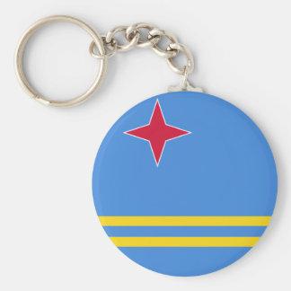 De Vlag van Aruba Sleutelhanger