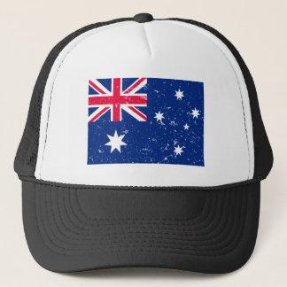 De vlag van Aussie Trucker Pet