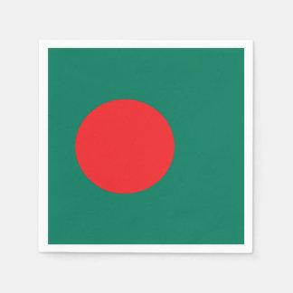 De vlag van Bangladesh Wegwerp Servetten