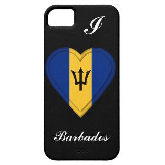 De Vlag van Barbados Barely There iPhone 5 Hoesje