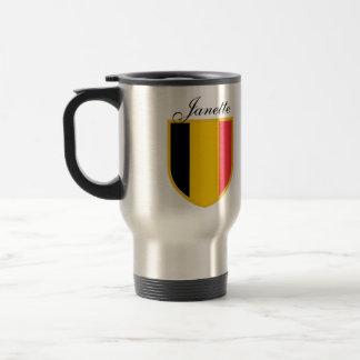 De Vlag van België Reisbeker