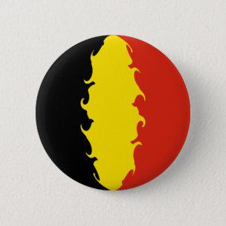 De Vlag van België Ronde Button 5,7 Cm
