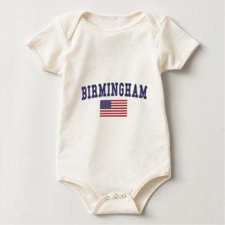 De Vlag van Birmingham de V.S. Baby Shirt