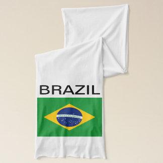 De vlag van Brazilië Bandeira doet Brazilië Sjaal