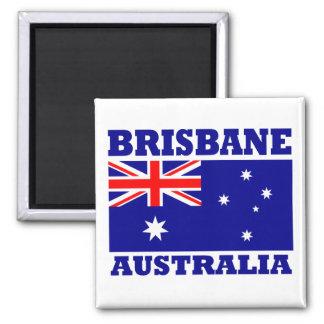 De Vlag van Brisbane Australië Magneet