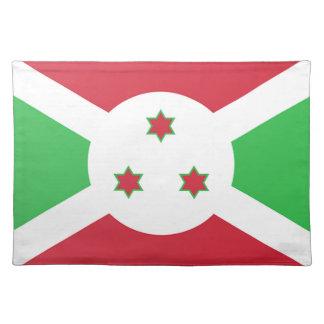 De Vlag van Burundi Placemat