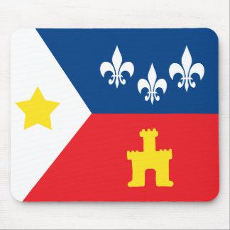 De Vlag van Cajun van Acadiana Muismatten
