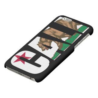 De Vlag van Californië van Cali iPhone 6 Hoesje Mat