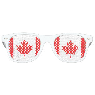 De Vlag van Canada Retro Zonnebril