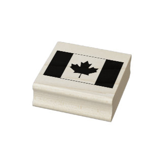 De Vlag van Canada Rubberenstempel