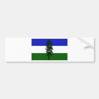 De Vlag van Cascadia Bumpersticker