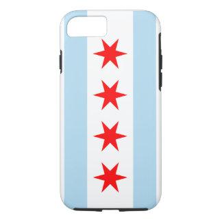 De Vlag van Chicago - Iphone 7 Hoesje (Taai