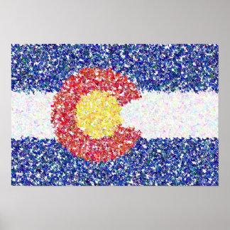 De Vlag van Colorado Poster