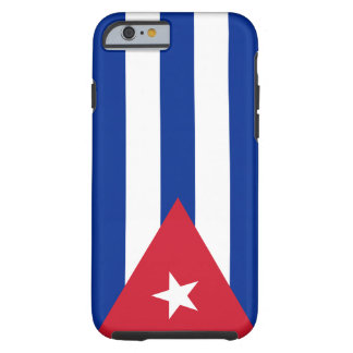 De Vlag van Cuba Tough iPhone 6 Hoesje
