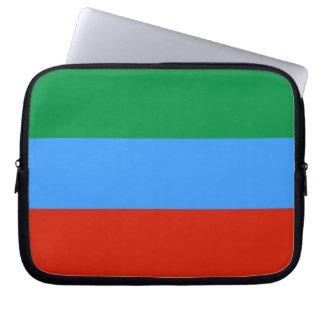 De Vlag van Dagestan Computer Sleeve