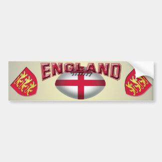 De Vlag van de Bal van het rugby van Engeland Bumpersticker