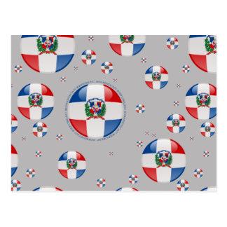 De Vlag van de Bel van de Dominicaanse Republiek Briefkaart