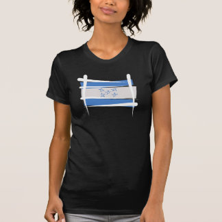 De Vlag van de Borstel van Honduras T Shirt