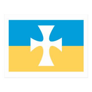 De Vlag van de Chi van de sigma Briefkaart