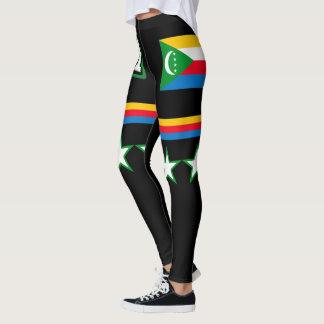 De Vlag van de Comoren Leggings