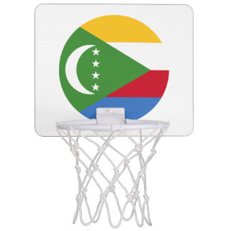De Vlag van de Comoren Mini Basketbalbord