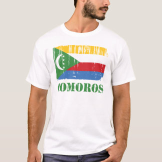 De Vlag van de Comoren T Shirt