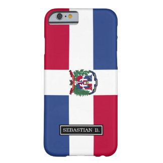De Vlag van de Dominicaanse Republiek Barely There iPhone 6 Hoesje