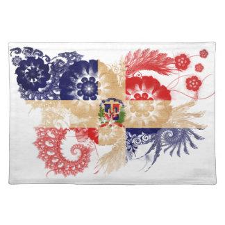 De Vlag van de Dominicaanse Republiek Placemat